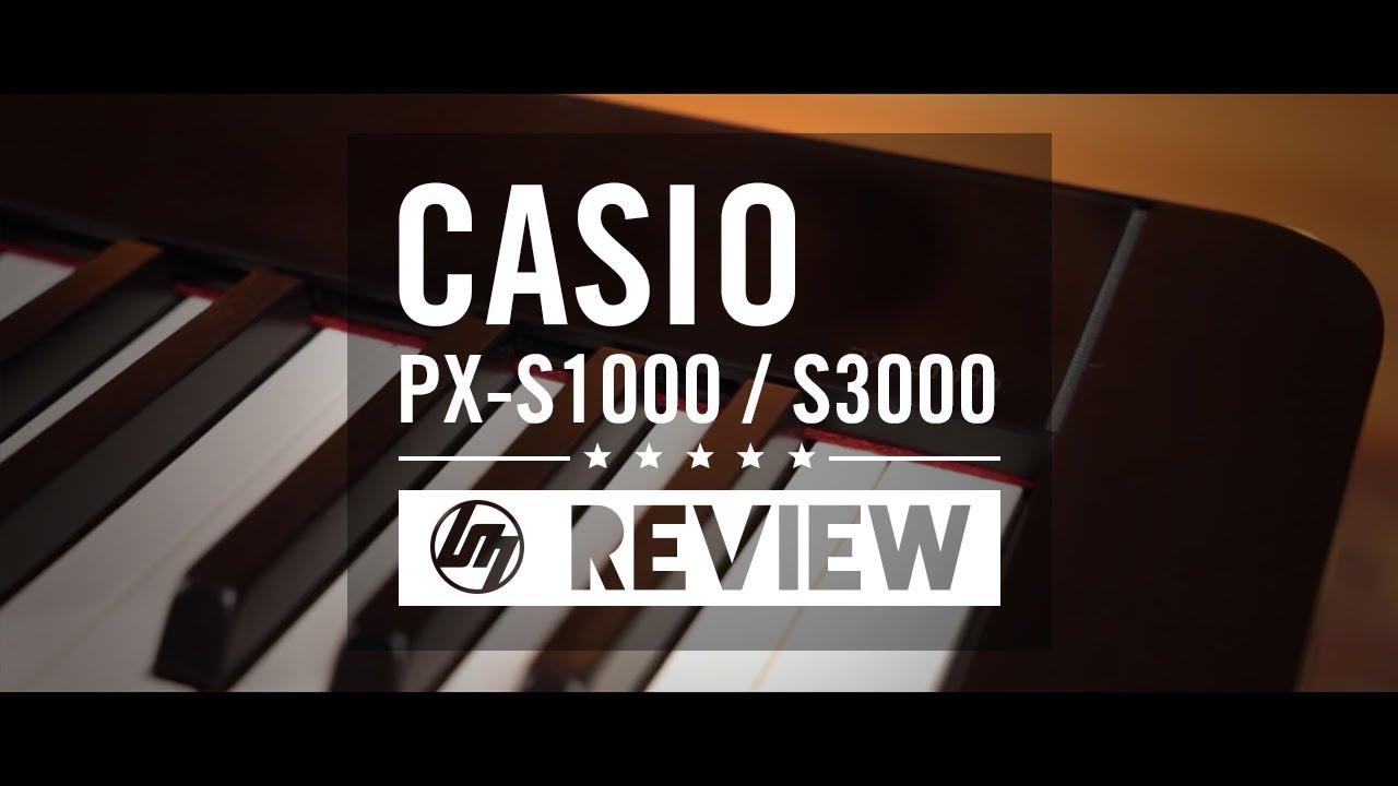 Casio Privia PX-S1000 & PX-S3000 | Better Music