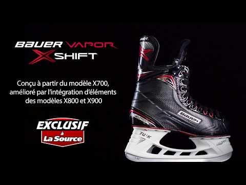 Patin de hockey Vapor X:Shift de Bauer Exclusif à La Source | La Source du Sport