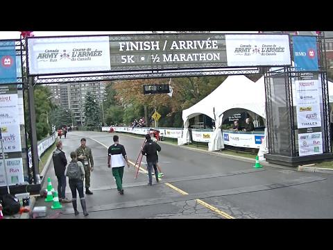 2014 Canada Army Run Finsh Line 5K