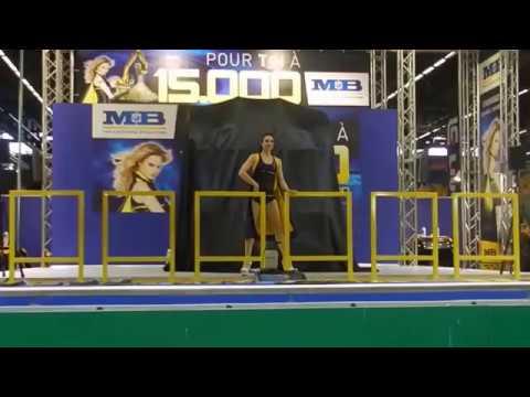 MB Pole Dancing Show @ Intermat 2012 - Mbcrusher.com