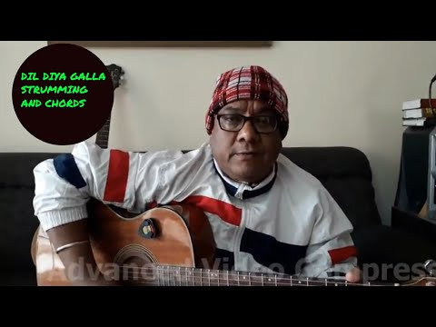 DIL DIYA GALLAN Guitar Lesson in Hindi    By Sudarshan Khati