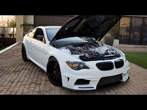 Bmw M6 Build Swaps V10 For Six Rotor Engine Youtube
