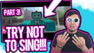 THE HARDEST TRY NOT TO SING CHALLENGE YET! | ROBLOX CHALLENGE VIDEO