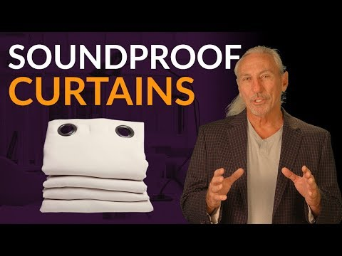 Soundproof Curtains - www.AcousticFields.com