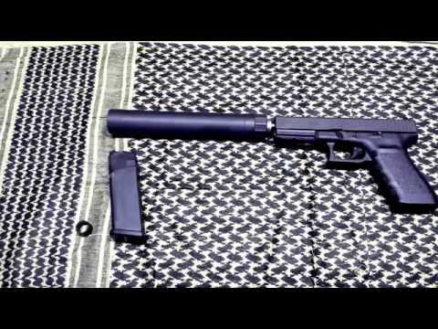 Glocks Suppressor ready Glock 21TB and AAC Tirant 45