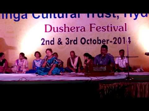 Dusshera Celebration @Kalinga Cultural Trust, Hyderabad