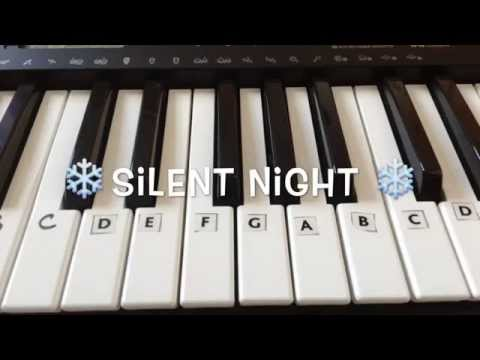 How To Play Silent Night On Piano