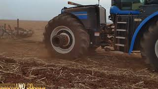 NEW HOLLAND T9. MOSTRO NO PREPARO DE SOLO