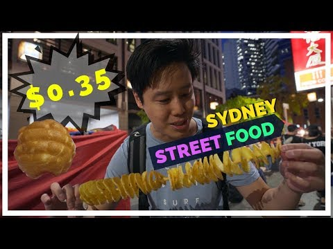SYDNEY Street FOOD - You Must Try : CHINATOWN NIGHT MARKET