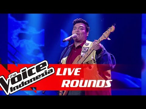 Richard - Isn't She Lovely (Stevie Wonder) | Live Rounds | The Voice Indonesia GTV 2019