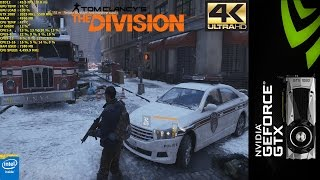 The Division Ultra Settings 4K | GTX 1080 | i7 5960X 4.5GHz