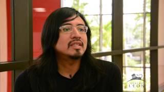 Leon Center. Interview with Miguel López