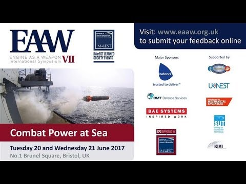 EAAW VII Keynote Address - Glen Sturtevant, US Department of Navy