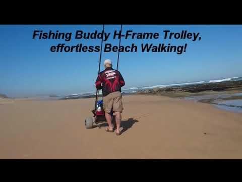Fishing Buddy H-Frame Beach Trolley