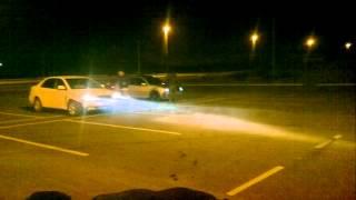 Toyota corolla vs volkswagen bora 1.8 turbo!