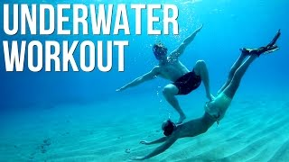 HOW TO WORK OUT UNDERWATER!