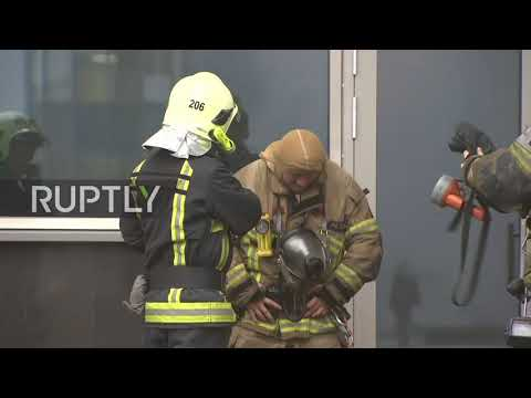 Russia: Blaze at Moscow airport sparks fear and confusion