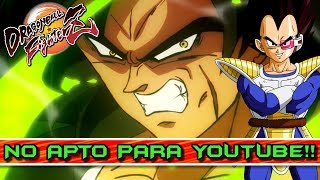 PERO QUE COMBATE! DEMASIADO BRUTAL PARA YOUTUBE!! DRAGON BALL FIGHTERZ