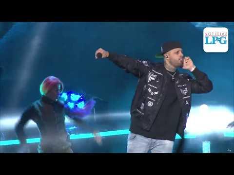 Así puso a bailar Nicky Jam a El Salvador