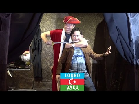 Loubo in Baku - Partying with Captain Morgan and other freaks