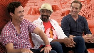 CBR TV @ SDCC 2014: Tom Cavanagh, Jesse L. Martin & John Wesley Shipp Divulge Some