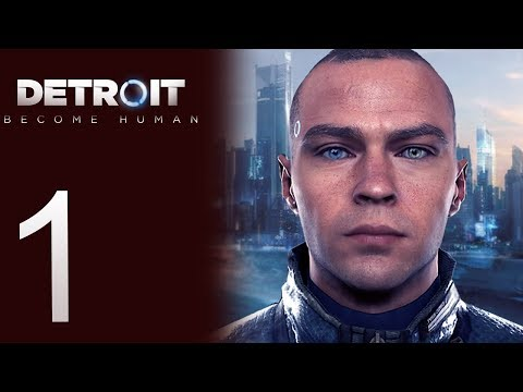Detroit: Become Human playthrough pt1 - An Android Investigation