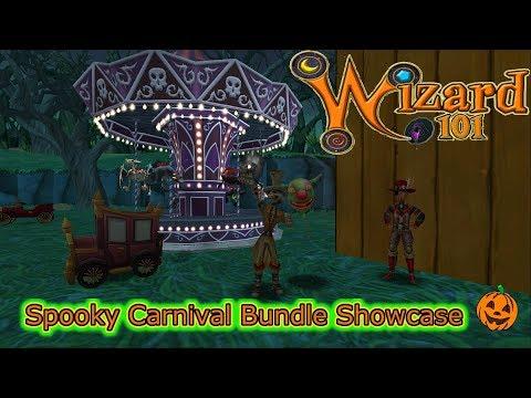 Wizard101 - Spooky Carnival Bundle Showcase Creepy Clown Car, Booloon