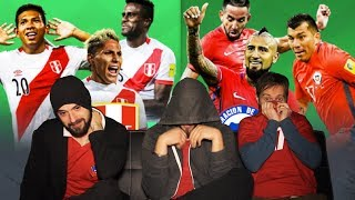 11XL: Chilenos reaccionan al Perú 3 Vs Chile 0, Clásico del Pacifico 2018