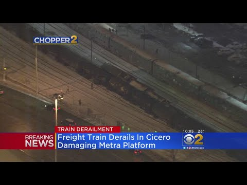 Metra BNSF Line Service Canceled From Cicero