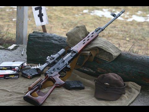 Обзор МП СВД Снайперская Винтовка Драгунова 7.62х54мм / SVD Sniper Rifle 7.62x54mm Close Up