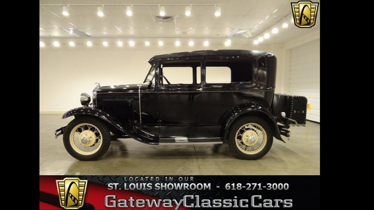 1930 Ford Model A for sale at Gateway Classic Cars in St. Louis, MO ...