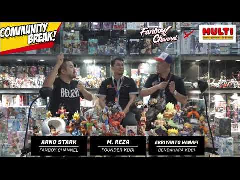 KDBI x Fanboy channel x multi toys community break volume 6