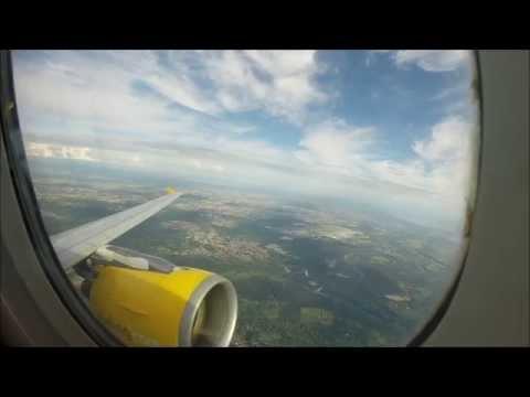 Nice Roar!! Vueling A320 Takeoff Milan- Malpensa (GoPro)
