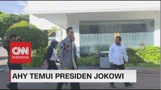 AHY Temui Presiden Jokowi di Istana