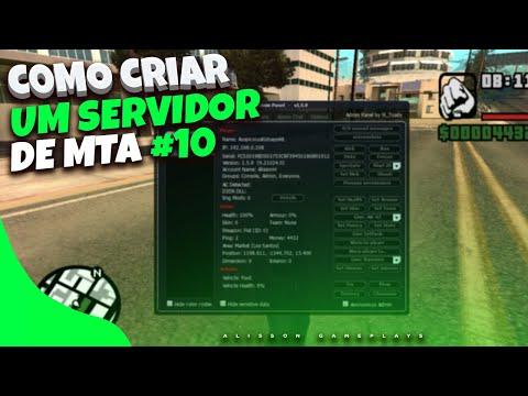 COMO CRIAR UM SERVIDOR DE MTA RP DO ZERO - #10 (Sistema de criação de painel policial)
