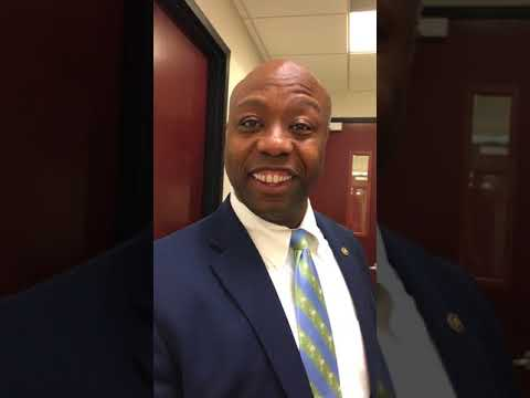 Tim Scott On North Charleston's New Police Chief Reggie Burgess