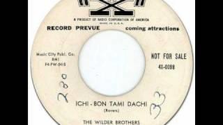Novelty Doo-Wop - Oriental Pop * ICHI-BON TAMI DACHI - The Wilder Brothers [X #4X-0098] 1955
