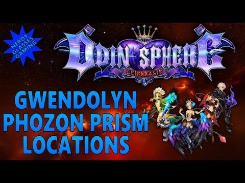 Odin Sphere Leifthrasir - Gwendolyn Phozon Prism Locations (PS4 Gameplay)