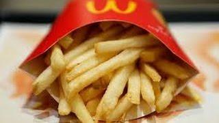 McDonalds french fries, chicken taste test