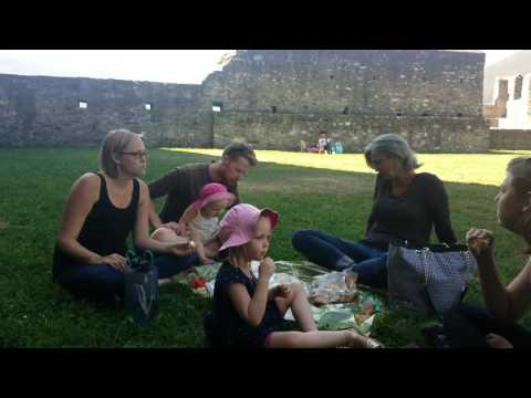 Switzerland - Lunch Bellinzona castle