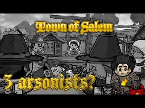 3 ARSONISTS, 3 SHERIFFS | Town of Salem - Classic All Any (I suck at this game)