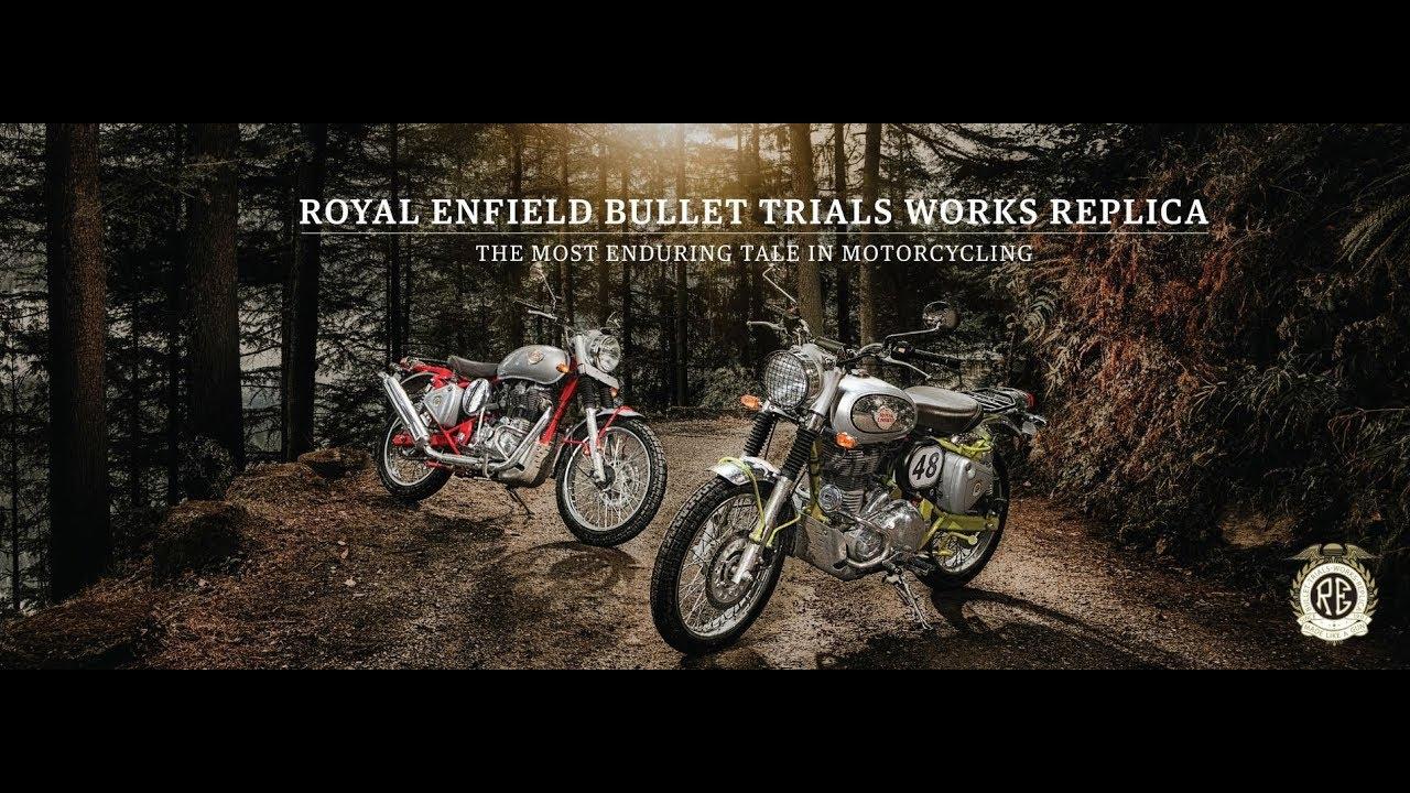 db3c2ccb Royal Enfield Bullet Trials Works Replica - YouTube