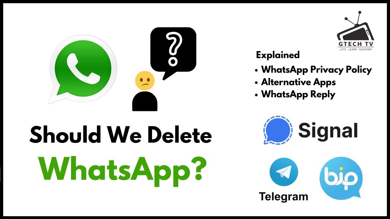 WhatsApp Privacy Policy Updated   Install Telegram/Signal/Bip