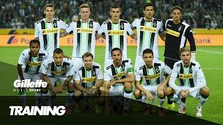 Football Training with Borussia Monchengladbach | Gillette World Sport
