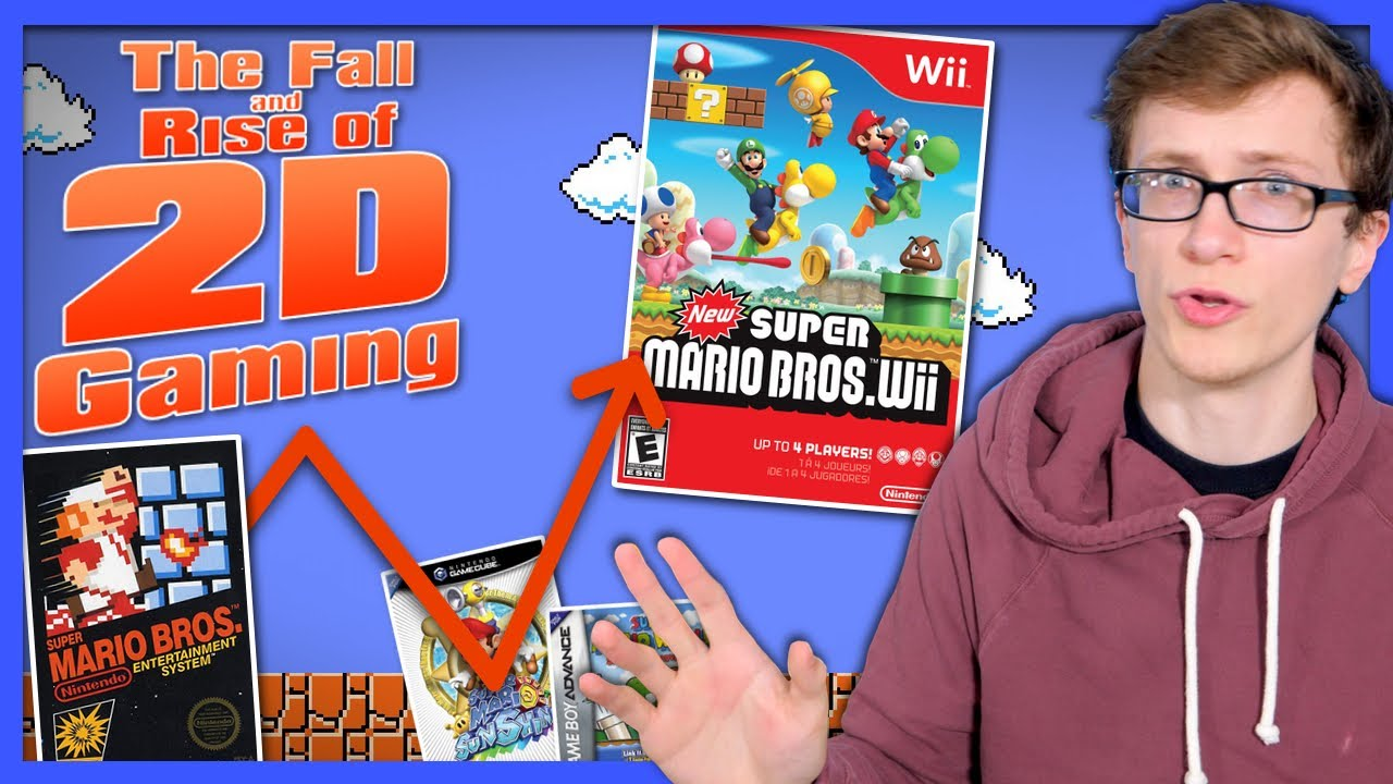 The Fall and Rise of 2D Gaming - Scott The Woz