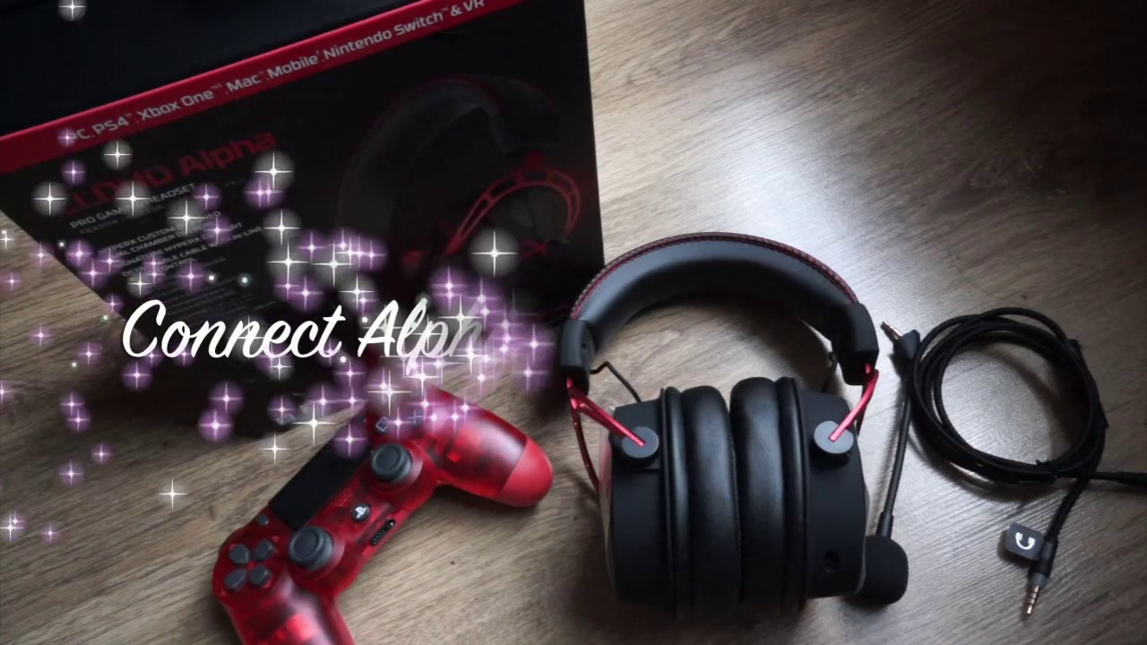 3b0197c06cd9 Hyper X Cloud Alpha connect to PS4 (Microphone not working  SOLVED ...