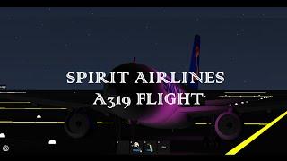 ROBLOX - Spirit Airlines Flight - A319