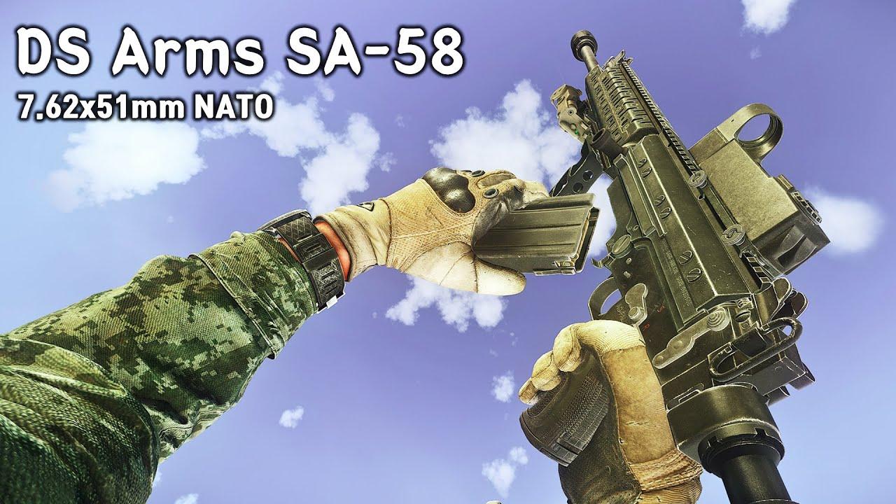 상남자의 총, DS Arms SA-58 7.62x51 플레이 | 이스케이프 프롬 타르코프