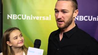 NBC Universal Winter Press Tour - Johnny Sequoyah and Jake McLaughlin / Interview / Believe
