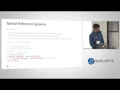 Using Geospatial Data with Python, SciPy2013 Tutorial, Part 1 of 6